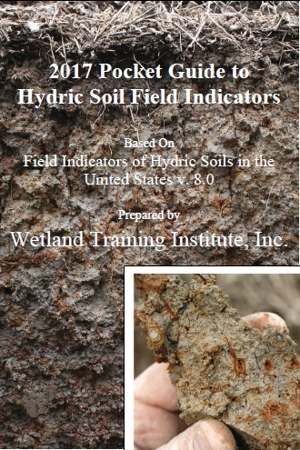 cover for pocket guide to hydric soil field indicators